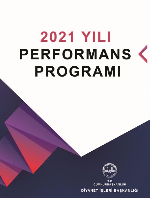 2021 Yılı Performans Programı