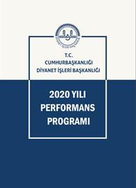 2020 Yılı Performans Programı